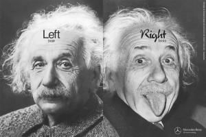 Einstein Links Rechts