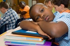 langzaam in de klas