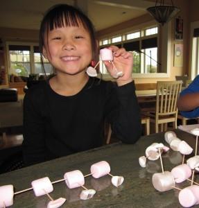 marshmallow-molecuul